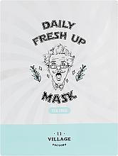 Kup Odświeżająca maseczka w płachcie do twarzy z ekstraktem z drzewa herbacianego - Village 11 Factory Daily Fresh Up Mask Tea Tree