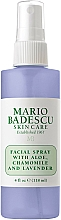 Spray do twarzy z aloesem, rumiankiem i lawendą - Mario Badescu Facial Spray Aloe, Chamomile And Lavender — фото N2