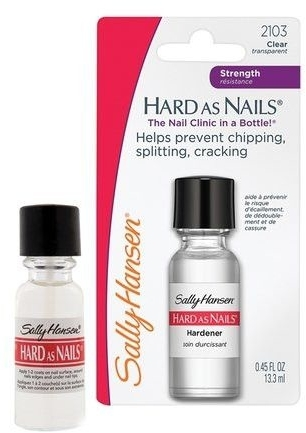 Wzmacniająca odżywka do paznokci - Sally Hansen Hard As Nails Hardener