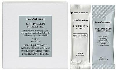 Peelingujący olejek do twarzy - Comfort Zone Sublime Skin Intensive Peel — фото N1