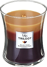 Kup Świeca zapachowa w szkle - WoodWick Holiday Cheer Trilogy Candle