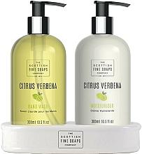 Kup Zestaw - Scottish Fine Soaps Citrus Verbena Hand Care Set (h/soap/300ml + h/cr/300ml)