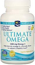 Kup Suplement diety w miękkich kapsułkach, Omega 3, 1280 mg - Nordic Naturals Ultimate Omega Lemon