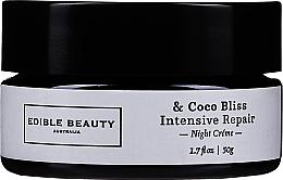 Kup Krem do twarzy o potrójnym działaniu - Edible Beauty Coco Bliss Intensive Repair Night Creme
