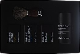 Kup Zestaw Golibrody - Zew For Men Barber's Set (4 x soap 85 ml + brush)