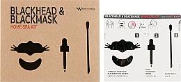 Kup Zestaw do oczyszczania twarzy z zaskórników - Wish Formula Blackhead & Blackmask Home Spa Kit