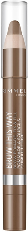 Pomada do brwi w kredce - Rimmel Brow This Way Brow Pomade