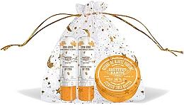Kup Zestaw - Institut Karite Almond Honey (butter/10ml + lipstick/2x4g)
