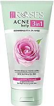 Kup Żel do mycia twarzy Woda różana i drzewo herbaciane - Nature Of Agiva Roses Acne Help 3 In 1 Cleansing Face Wash