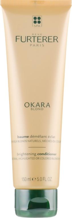 Balsam do naturalnych jasnych i farbowanych włosów - Rene Furterer Okara Blond Brightening Conditioner — фото N2