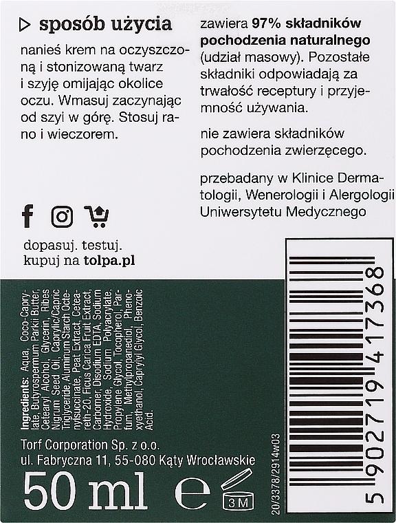 Odżywczy krem wygładzający do twarzy Figa i czarna porzeczka - Tolpa Green Nourishing Smoothing Cream — фото N3