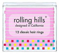 Kup Zestaw gumek do włosów - Rolling Hills Classic Hair Rings Pink
