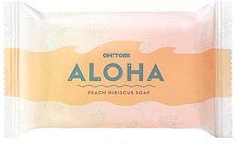 Kup Naturalne mydło w kostce - Oh!Tomi Aloha Peach Hibiscus Soap