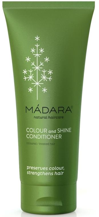Balsam do włosów farbowanych i traktowanych chemicznie - Madara Cosmetics Colour & Shine Conditioner — фото N4