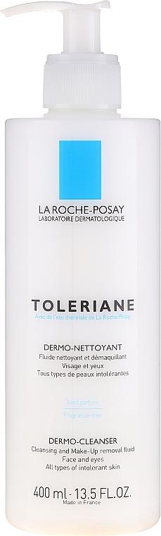 Mleczko do demakijażu twarzy i oczu - La Roche-Posay Toleriane Dermo-Cleanser — фото N1