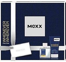 Kup Mexx Whenever Wherever For Him - Zestaw prezentowy (edt 30 ml + sh/gel 50 ml)