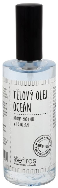 Pachnący olejek do ciała Ocean - Sefiros Ocean Body Oil — фото N1