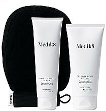 Kup Zestaw - Medik8 Smooth Body Exfoliating Kit (scr/150ml+lot/200ml+glove)