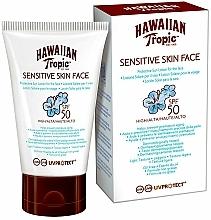 Kup Balsam do opalania dla wrażliwej skóry SPF 50 - Hawaiian Tropic Sensitive Skin Face Lotion SPF50