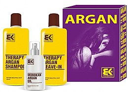 Kup Zestaw - Brazil Keratin Therapy Argan (shm/300ml + cond/300ml + oil/100ml)