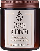 Kup Zapachowa świeca sojowa Zapach Kleopatry - Bosphaera The Scent of Cleopatra Candle