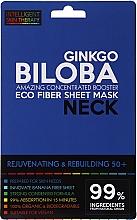 Kup Ekspresowa maska na szyję - Beauty Face IST Rejuvenating & Rebuilding Neck Mask Ginkgo Biloba