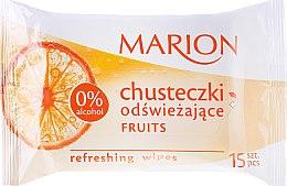 Kup Chusteczki odświeżające Fruits, 15 szt. - Marion