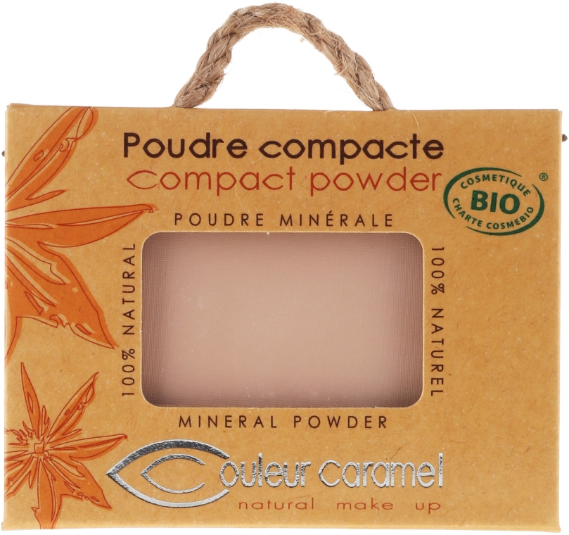 Puder w kompakcie - Couleur Caramel Compact Powder — фото N2