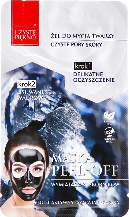 Oczyszczająca maska peel-off Wymiatacz zaskórników - Czyste Piękno