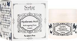 Kup Przeciwzmarszczkowy krem do twarzy z kwasem hialuronowym - Sostar Hyaluronic Acid Anti-Aging Face Cream