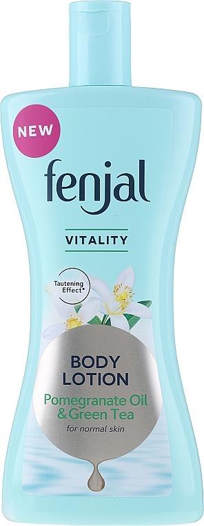 Balsam do ciała z olejem z granatu i zieloną herbatą - Fenjal Vitality Body Lotion Pomegranate Oil & Green Tea — фото N1