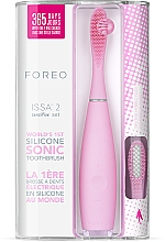 Kup Soniczna szczoteczka do zębów - Foreo Issa 2 Sensitive Set Pearl Pink