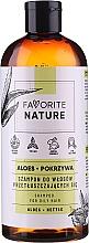 Kup Szampon do włosów przetłuszczających się Aloes i pokrzywa - Favorite Nature Shampoo For Oily Hair Aloes & Nettle