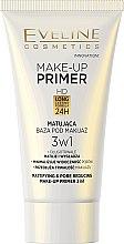 Kup Matująca baza pod makijaż 3 w 1 - Eveline Cosmetics Make-up Primer