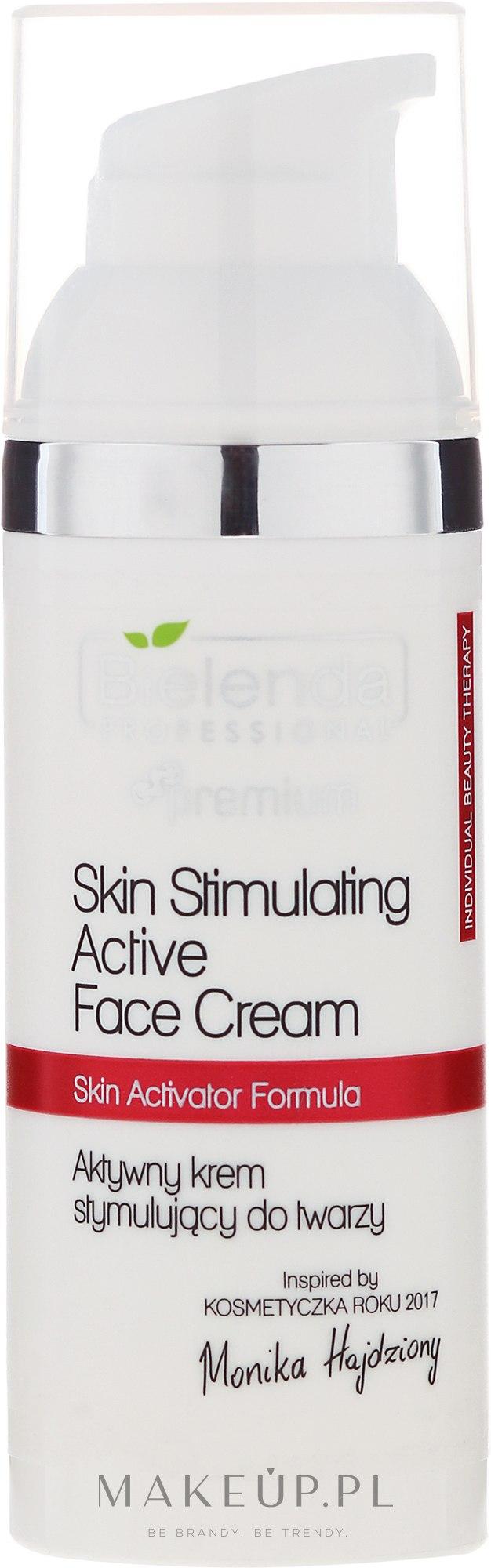 Aktywny krem stymulujący do twarzy - Bielenda Professional Individual Beauty Therapy — фото 50 ml