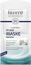 Kup Odżywcza maska do twarzy - Lavera Neutral Nourishing Intensive Mask