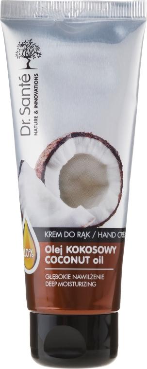 Nawilżający krem do rąk z olejem kokosowym - Dr. Santé Coconut Oil Hand Cream