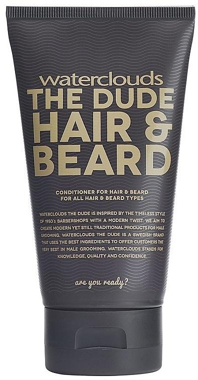 Odżywka do włosów i brody - Waterclouds The Dude Hair And Beard Conditioner — фото N1