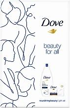 Kup Zestaw - Dove Nourishing Beauty Gift Set (sh/gel/250ml + soap/100g)