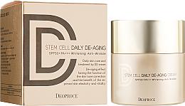 Kup PRZECENA! Krem DD przeciwzmarszczkowy z filtrem przeciwsłonecznym SPF 50+ - Deoproce Stem Cell Daily-aging Cream *