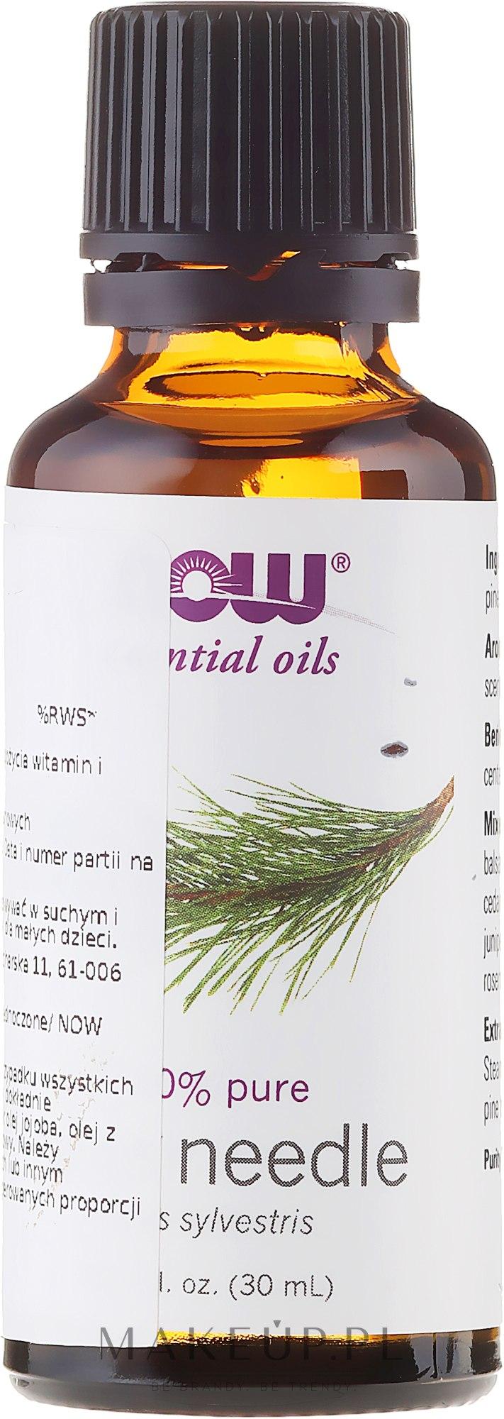 Olejek eteryczny Sosna - Now Foods Pine Needle Essential Oils — фото 30 ml