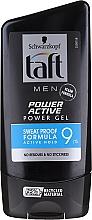 Kup Żel do modelowania włosów dla mężczyzn - Schwarzkopf Taft Looks Power Active Gel
