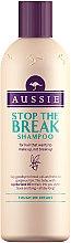 Kup Wzmacniający szampon przeciw łamliwości włosów - Aussie Stop The Break Shampoo