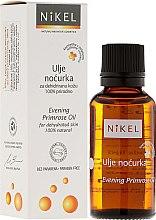 Olej z wiesiołka - Nikel Evening Primrose Oil — фото N1
