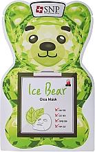 Kup Nawilżająco-złuszczające płatki tonizujące do twarzy - SNP Ice Bear Cica Mask