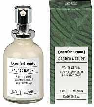 Kup Przeciwzmarszczkowe serum do twarzy - Comfort Zone Sacred Nature Youth Serum