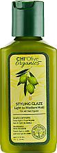 Żel z oliwą do stylizacji włosów - Chi Olive Organics Styling Glaze — фото N1