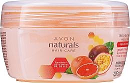 Odżywcza maska witaminowa do włosów Grejpfrut i marakuja - Avon Naturals Hair Care Treatment Mask — фото N1