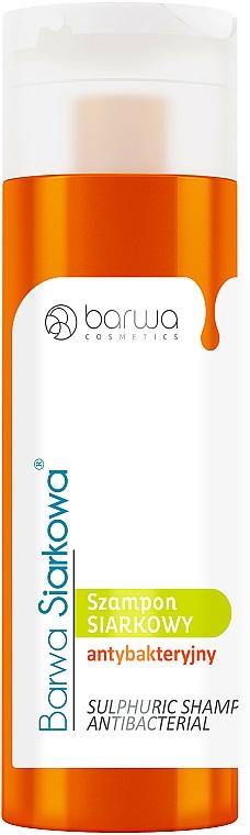 Antybakteryjny szampon siarkowy - Barwa Siarkowa Special Sulphur Antibacterial Shampoo