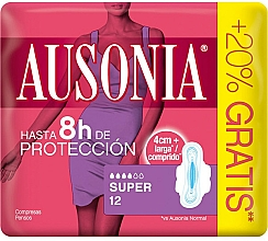 Kup Podpaski ze skrzydełkami, 12 szt. - Ausonia Super Plus Towels